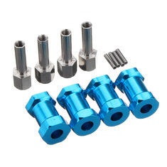 20mm Extension 12mm Wheel Hub Hex Drive Adapter For RC Car Parts Crawler SCX10 Wraith 1/10