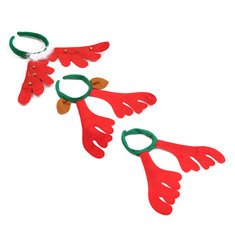 Christmas Reindeer Deer Antlers Headbrandd Hair Band Xmas Fancy Dress AAccessorie.s