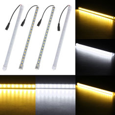 5W 30CM DC12V 5050 21SMD LED Aluminum Alloy Shell Under Cabinet Tube Bar Strip Light