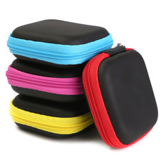 Pocket Mini Hard Case Holder Earphone Headphone Change Keys Coins Storage Bag