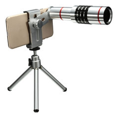 18X Univesal Mobile Phone Telephoto Lens TelescopE-mount Tripod For Cell Phone