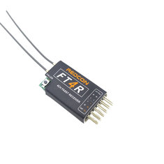 FT4R REDCON Ultra Light 2.4G 4CH FASST Mini FUTABA Compatible Receiver