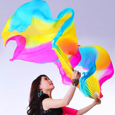 1.8M 5 colors Belly Dance Fan