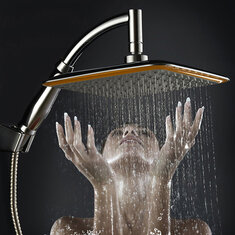rain type shower head.  9 Inch Square Thin Rotatable Top Rain Shower Head Stainless Steel Water Saving Pressure Sprayer head Buy best shower cheap led from