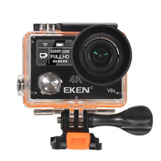 EKEN V8s Action Camera Real 4K Ultra HD 2.4G Remote WiFi Control 170 Degree Wide Angle Sport DV