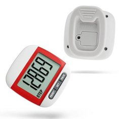 Large Screen Jogging Step Pedometer Walking Calorie Distance Counter