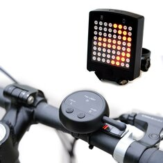 64 LED Wireless Remote Laser Bicycle