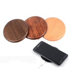 NW170 Solid Wood QI Wireless Charging Pad For Cellphone