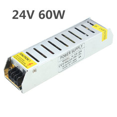 IP20 AC110V-220V To DC24V 60W Switching Power Supply Driver Adapter