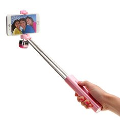 Atongm Bluetooth Selfie Stick Adjustable Phone Holder Built-in Bluetooth Remote Shutter