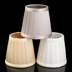 3 Colours Modern European Style Fabric Easy Lampshade Table Wall Lamp Hanging Light Cover