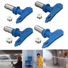 2 Series 11-17 Blue Airless Spray Gun Tips For Wagner Atomex Graco Titan Paint Spray Tip