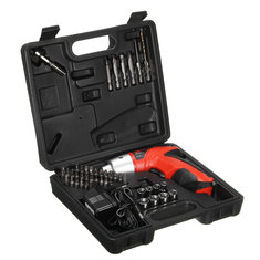 45 in 1 LED Electric Screwdriver Cordless Power Drill Set Electric Drill Driver Tool with EU Charger