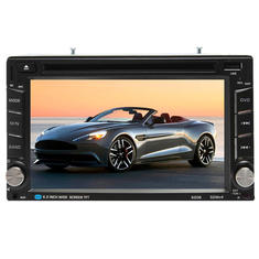 6.2 inch Double 2 Din HD Stereo Touchscreen Car DVD Player Bluetooth USB/SD/TV Radio