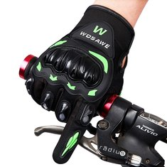 WOSAWE Off-road Vehicle Motorcycle Riding Gloves Full finger With Hard Shell Anti Fall Gloves