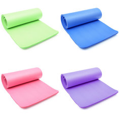 15MM Thick 183cm x 61cm Yoga Mat Exercise Fitness Physio Gym Mats Non Slip 4 colors