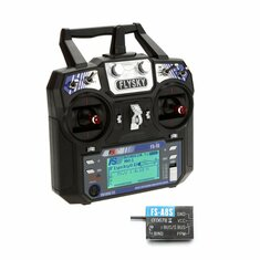 FlySky i6 FS-i6 2.4G 6CH AFHDS RC Transmitter Mode 2 With FS A8S 8CH Mini Receiver