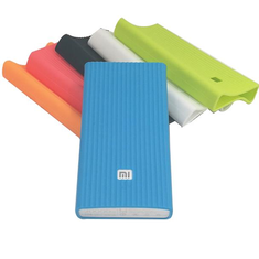 Bakeey Silicone Case Xiaomi 2Gen 20000mAh Battery Power Bank Protective Cover Shell Cable Storage
