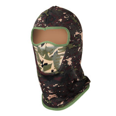 Camouflage Unisex Balaclavas Warm Winter Cheek Neck CS Hat Ski Hunting Hat Hood