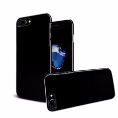 Jet Black PC Shockproof Case Cover For iPhone 7/7 Plus