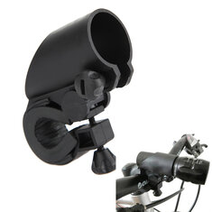 LED Flashlight Mount Holder for Bicycle Riding 2.2cm to 2.7cm