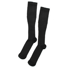 2 Pairs Black L/XL Compression Socks Soothe Varicose Vein Stocking Relief Support Anti Fatigue Leg