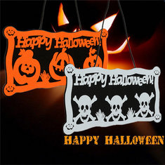 Halloween Wall Door Doorplate Plaque Hanging Sign Home Bar Haunted House Decor