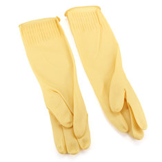 1 Pair Latex Rubber Cleaning Wash Gloves Skincare Sleeves for Home Kitchen Dishwashing