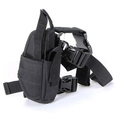 Outdoor Hunting Adjustable Puttee Leg Pouch Bag Camping Hiking