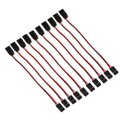10 x 15cm 60 Cores Servo Extension Wire Cable For Futaba JR