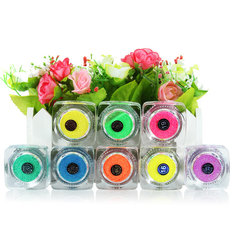 Glitter Fluorescent Powder Nail Art Tattoo Supply
