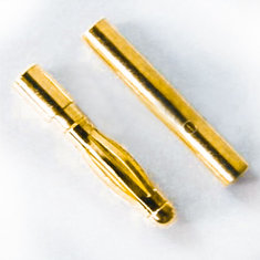 2mm Gold Bullet Banana Connector Plug For ESC Battery Motor 1 Pair