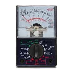MF-110A Electric AC/DC OHM Voltmeter Ammeter Analog Multimeter