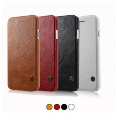 Luxury Leather Flip Cover Card Wallet Case For iPhone 6/6s Plus