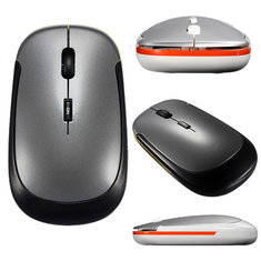 2.4GHz Ultra Slim USB Wireless Optical Mouse For PC Laptop