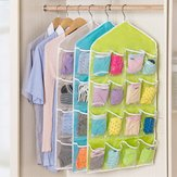 Original 16 Pockets Multifunction Underwear Sorting Storage Bag Door Wall Hanging Closet Organizer Bag Space-Saving Underwear Storage Bags