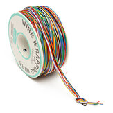 DANIU 250M 8-Wire Colored Insulated P/N B-30-1000 30AWG Wire Wrapping Cable Wrap Reel