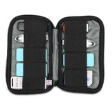 BUBM 9SBR Universal Portable Digital Accessories Organizer 9 pcs U Disk Case Storage Bag