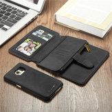 BlitzWolf® Guardian PU Leather Magnetic Detachable Zipper Wallet Case for Samsung Galaxy S7