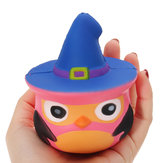Original Squishy Pumpkin Bird Slow Rising Toy Kids Fun Gift Party Decor Phone Colgante