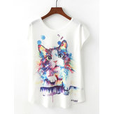 Original Gato Camiseta estampada
