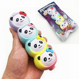 Original Squishyfun Rainbow Panda Candy Stick Squishy 15cm Slow Rising With Packaging Collection Gift Toy