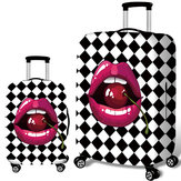 Original Honana Cherry Lips Elastic Luggage Cover Trolley Case Cover Durable Suitcase Protector for 18-32 Inch Case Warm Travel Accessories