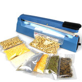 220V Electric Manual Bag Sealer Seal Ring Machine Food Tea Plastic Bag Heating Seal Ring Machine