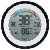Multifunctional Digital Thermometer Hygrometer Temperature Humidity Meter Max Min Value Trend Display ℃/℉ Touch Screen