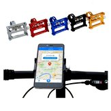 GUB G-86 CNC Aluminum Alloy Bicycle Bike Phone Holder Handbar Clip Stand Mount Bracket For iPhone 7/Plus,Samsung Galaxy S5/S4,LG,G3,HTC and GPS Device,Holds All Up To 6.2 Inch Smartphones