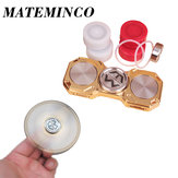 MATEMINCO FLAME EDC Hand Spinner Ultimate 8 min 40s Rotating 4 LED Modes CNC Process Germany Silicon Carbide Hybrid Bearings Fingertips Spiral