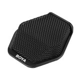 Original BOYA BY-MC2 Super-cardioid Condenser Conference Microphone with 3.5mm Audio Jack 5V USB Interface