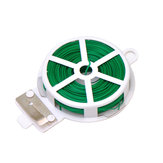 Honana HG-GP6 164FT(50M) Garden Plant Wire Twist Tie Dispenser with Cutter Cable Tie Coated Wire