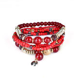 Bohemian Bracelet Beads Multilayer Retro Bracelet For Women